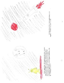 Un Voyage au Mars first year French graded reader