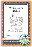End of the Year Un año entre amigos YEARBOOK Printable Spanish Resource