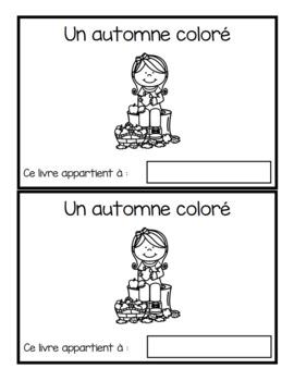 Un automne coloré (emergent readers)