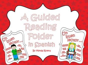 Un buen lector (A Guided Reading Folder in Spanish)