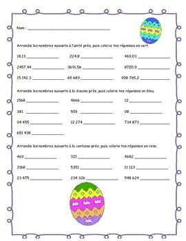 Un coco de Pâques bien arrondi