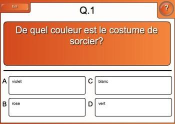 Un costume pour Halloween (Short Story/Games-Activity Bundle)