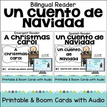 Un cuento de Navidad ~ A Christmas Carol Readers {Bilingual Bundle}