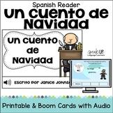 Cuento de Navidad Spanish Christmas Carol Reader & Boom Cards Audio | español