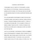 Un cuento de folletín  Reading Comprehension, Preterit vs.