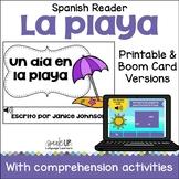 Un día en la playa Spanish Beach/Summer Reader {español} + BOOM™ Version w Audio