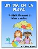 Un día en la playa: actividades diferenciadas de lectura y escritura en español