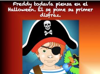Un disfraz para Halloween (Spanish Hallween Video Story)