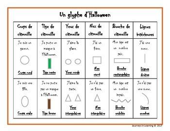 Un glyphe d'Halloween