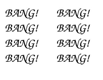 French Immersion - Un jeu joué avec le mur de mot! BANG!