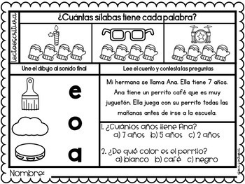 Un nuevo día enero (January Morning Work in Spanish)