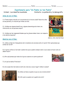 Un padre no tan padre | Movie Guide | Guía de filme | AP Spanish
