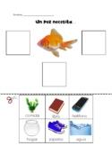 Un pez necesita / A fish needs - Spanish Resource