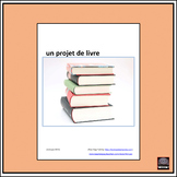 French Book Project – Projet de livre - Activity Cards