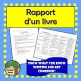 Un rapport d'un livre (Book report in a box)