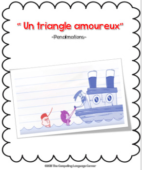 Un triangle amoureux: French Movie Talk