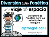 Spanish Phonics Center for Diphthongs - Centro de diptongos de i