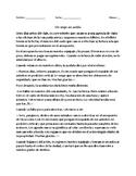 Un viaje de avión: Spanish Reading Comprehension (Advanced Level)