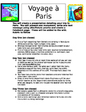 Un voyage a Paris
