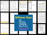 UnPlanner Pages