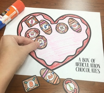 Una Caja De Chocolates De Articulación: A Speech Craft Activity (Español)