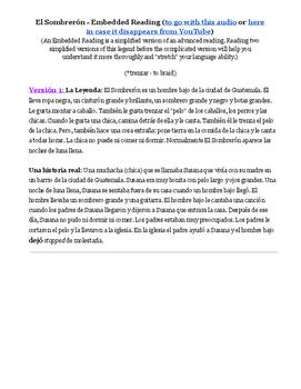 Una Leyenda de Guatemala: El Sombrerón
