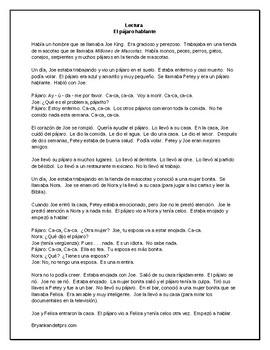 Una Mascota Nueva - A Spanish TPRS Unit