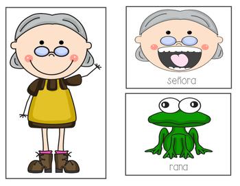 Una día una señora se tragó una rana (There was an old lady SPANISH)