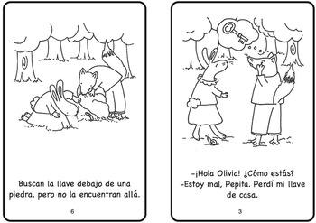 Una llave perdida Spanish Printable Minibook