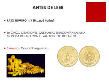 Una moneda de oro. Cuento de Navidad | PPT, Lectura, Preguntas, Vocabulario etc.