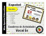 DOLLAR DEALS: Tareas para trabajar la Vocal E (Español/Spa