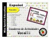 DOLLAR DEALS: Tareas para trabajar la vocal I (Español/Spa