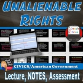 Unalienable Rights Lecture Power Point Presentation –  (CI