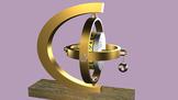 Unbalanced gyroscope precession