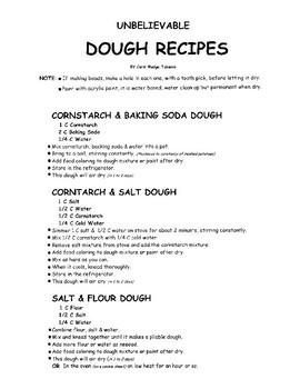 Unbelievable Fun Dough Recipes