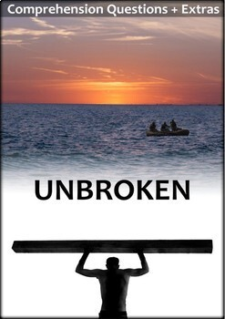 Unbroken Movie Guide + Extension Questions - Answer Keys Included