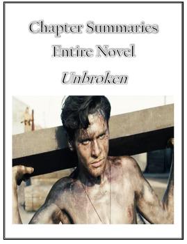 Unbroken Chapter Summaries Entire YA Novel