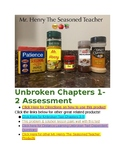 Unbroken Chapters 1-2 Test