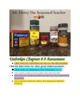 Unbroken Chapters 8-9 Assessment
