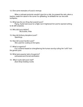 Unbroken Test and Review Packet