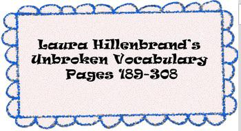 Unbroken Vocabulary pg 189-308