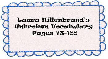 Unbroken Vocabulary pg 73-188