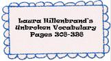 Unbroken Vocabulary pg308-398