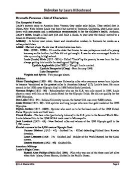 unbroken by laura hillenbrand a study guide by raymond moore tpt rh teacherspayteachers com a study guide can be created a study guide to steinbeck