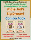 """""""Uncle Jed's Barbershop""""-No Prep Bundle Pack (ELA/Math/Personal Financial Lit.)"""