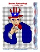 Uncle Sam Coordinate Graphing Practice patriotic 4th of July