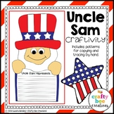 Uncle Sam Craft {Uncle Sam Writing Prompts}