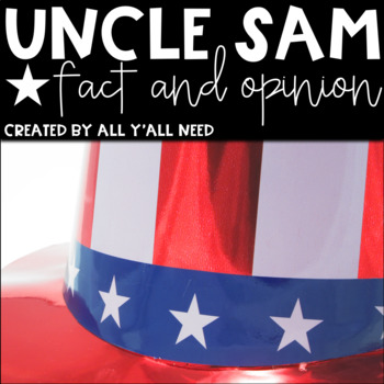 Uncle Sam: Fact and Opinion