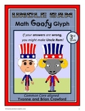 USA Math Goofy Glyph (3rd Grade Common Core)