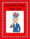 Uncle Sam Paper Plate Craft